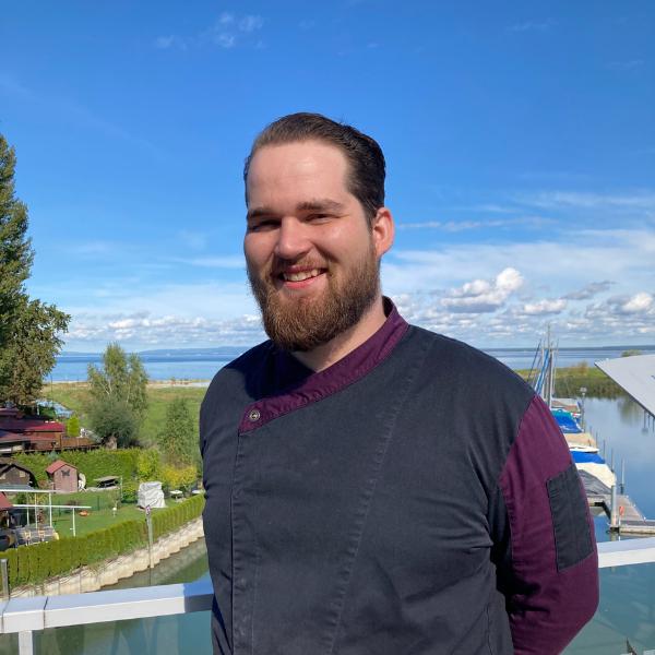 Stoma bei Darmkrebs: Silvan am Bodensee