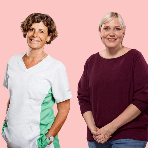 Breast Care Nurse: Die zwei Carolines