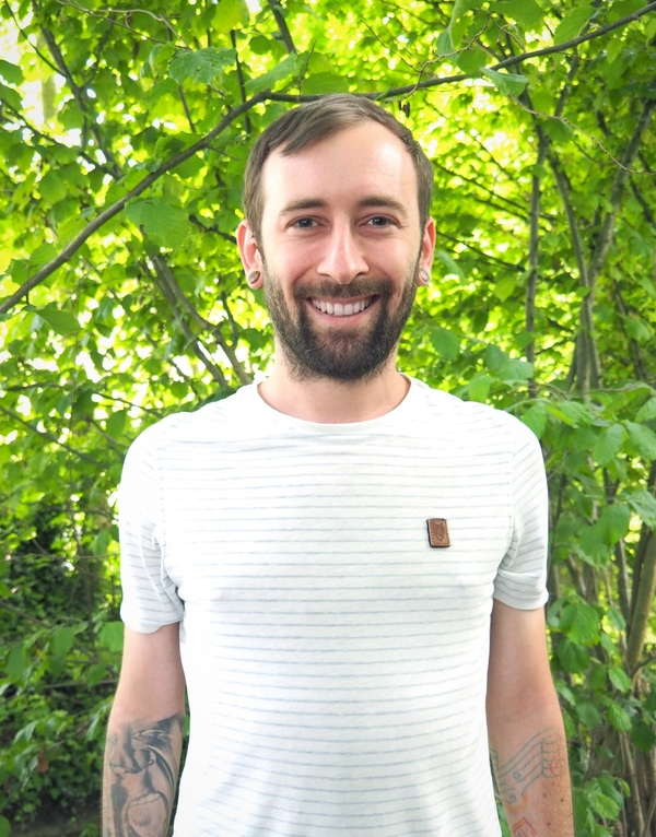 David im Wald