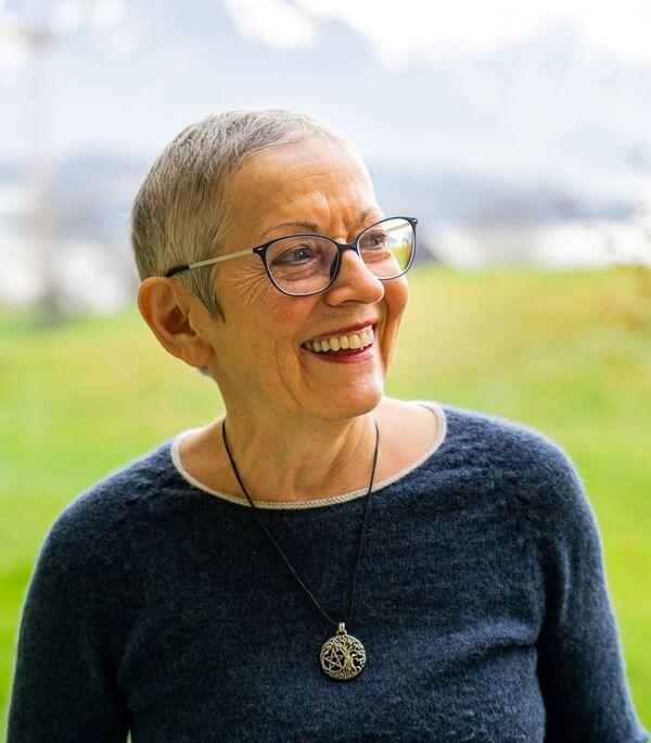 Doris, Brustkrebs und Eierstockkrebs-Patientin